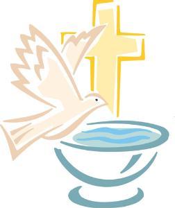 Znalezione obrazy dla zapytania chrzest symbol