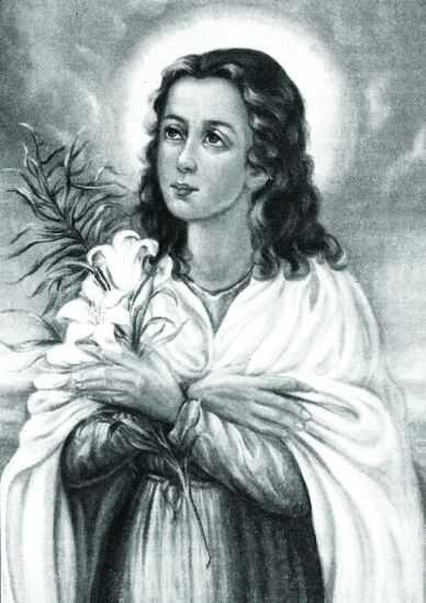 maria goretti Saint maria's body can be found in the crypt of the basilica of nostra signora delle grazie e santa maria goretti in nettuno though several claim her body is incorrupt, she has been proven to be corrupt.