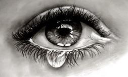 Znalezione obrazy dla zapytania łzy z oczu